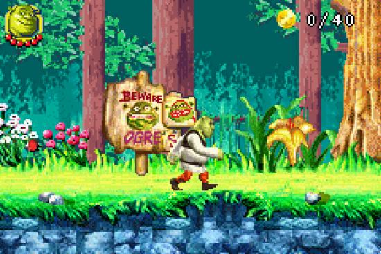 Shrek 2 GBA ROM #19