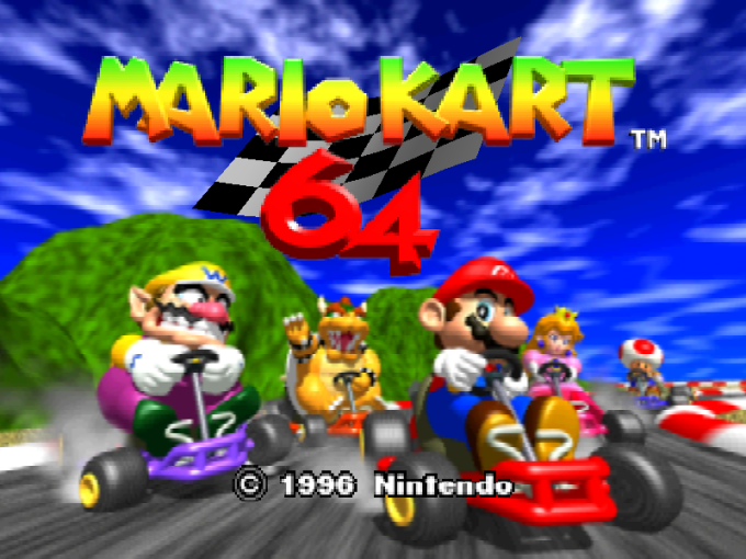 Mario Kart 64 Download Game   GameFabrique Mario Kart 64 Nintendo 64 Screenshot