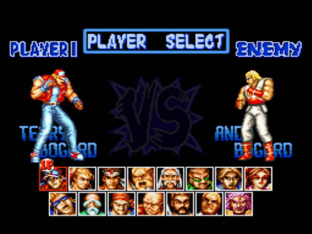 Fatal Fury Special Download Game GameFabrique