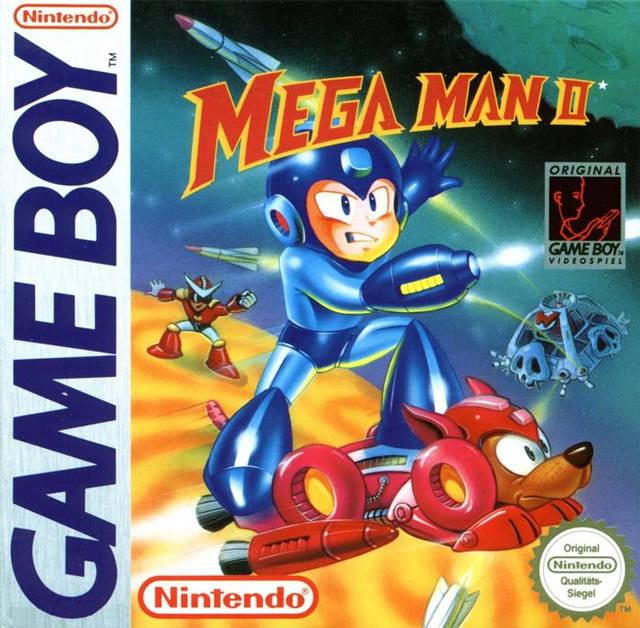 mega man ii box shot for game boy