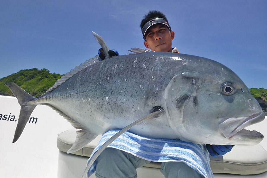 8_giant-trevally_popping_andamans_fishing_carpenter-rods_shimano-stella-reels_hammer-head-lures_koh-guan-chu