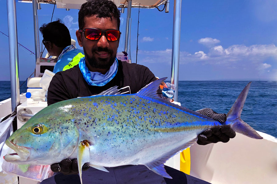 blue-fin-trevally_popping_andaman_atc-vector-rod_shimano-saragossa-10000-reel_point-jude-220gm-popper_ravi