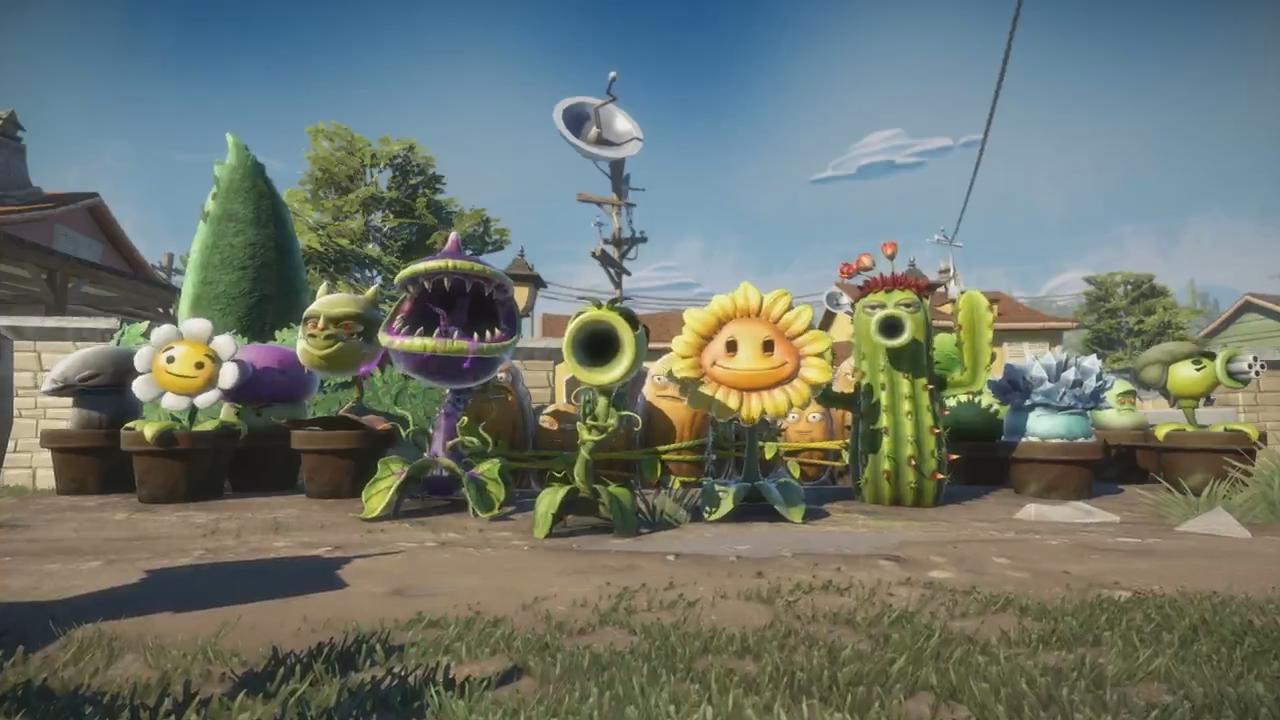 Plants Vs Zombies Garden Warfare Ser Lanado Para Todos