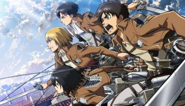 Attack On Titan 3DS - Banner