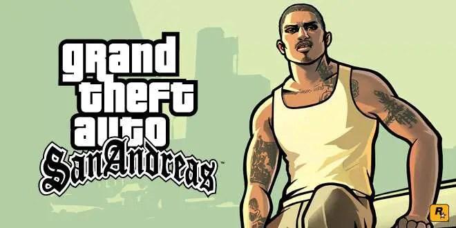 Grand Theft Auto San Andreas - HD Banner