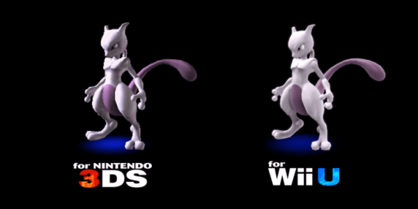 Super Smash Bros. for 3DS - Mewtwo