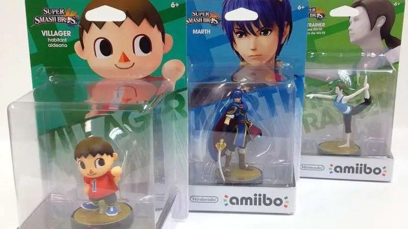 Amiibo - Rare Villager Marth Wii Fit Trainer