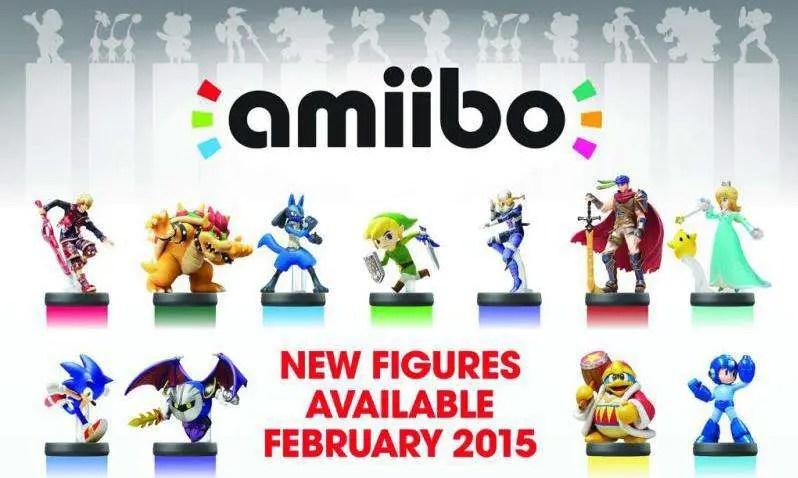 Amiibo - Wave 3 February 2015