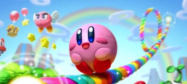 Kirby Rainbow Curse - Banner