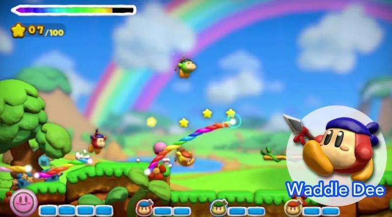 Kirby Rainbow Curse - Multiplayer