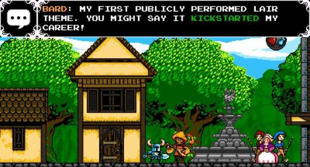 Shovel Knight - NPC Dialogue