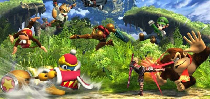 Super Smash Bros Wii U - Gaur Plains