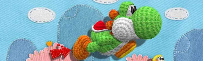 Yoshis Wooly World - Banner