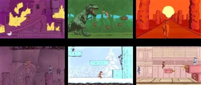 Gunman Clive 2 - Collage