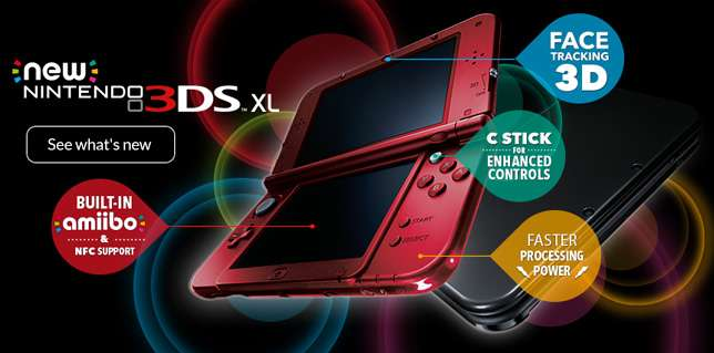 New 3DS XL - Features