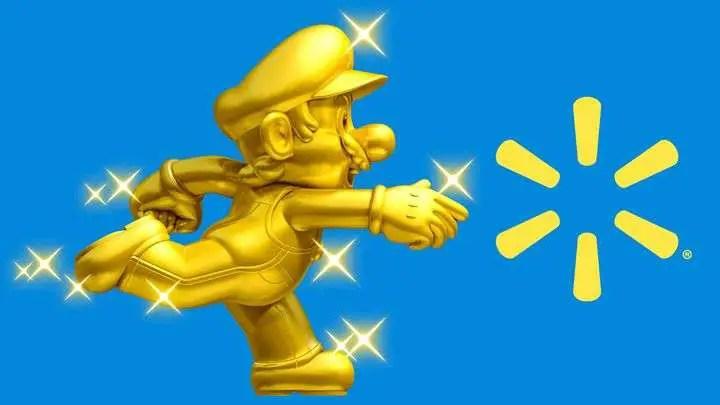 Amiibo - Walmart Exclusive Gold Mario
