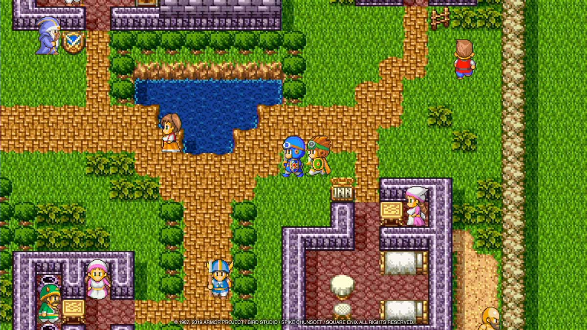 Dragon Quest I, II, and III Heading West on the Nintendo Switch