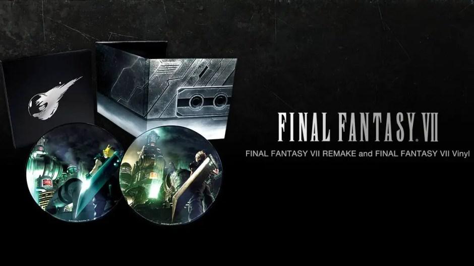 Final Fantasy VII Remake vinyl