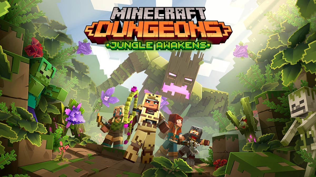 Minecraft Dungeons' first DLC 'Jungle Awakens' officially revealed, free updates coming too