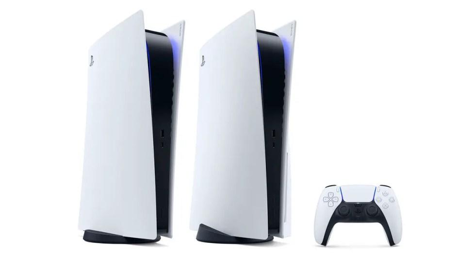 PS5 console and DualSense controller