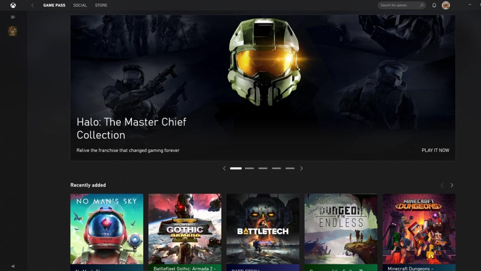 Xbox PC App Windows 10