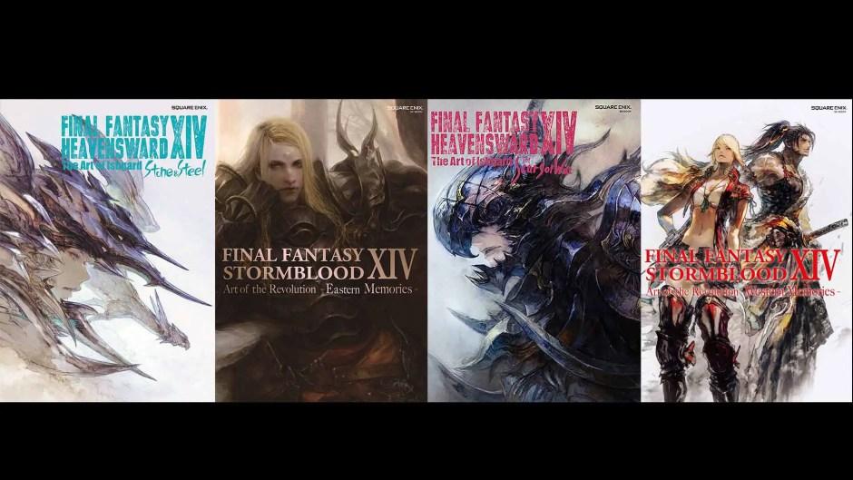 Final Fantasy XIV Online art books