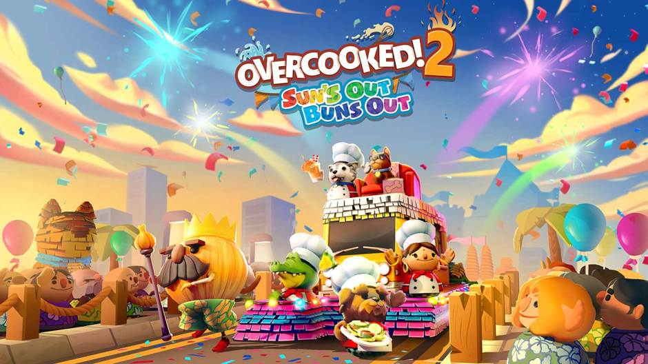 Overcooked 2 Sun's Out Buns Out DLC