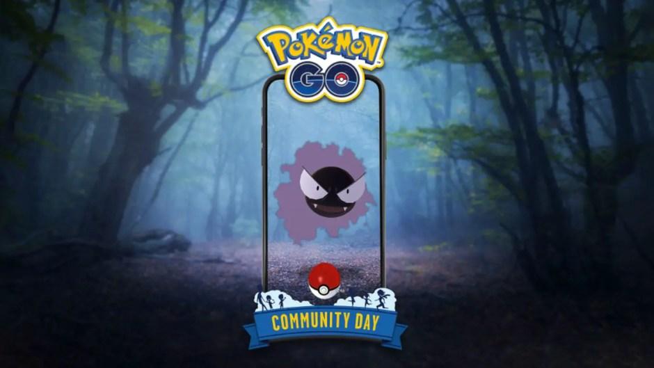 Pokémon Go July Community Day Gastly