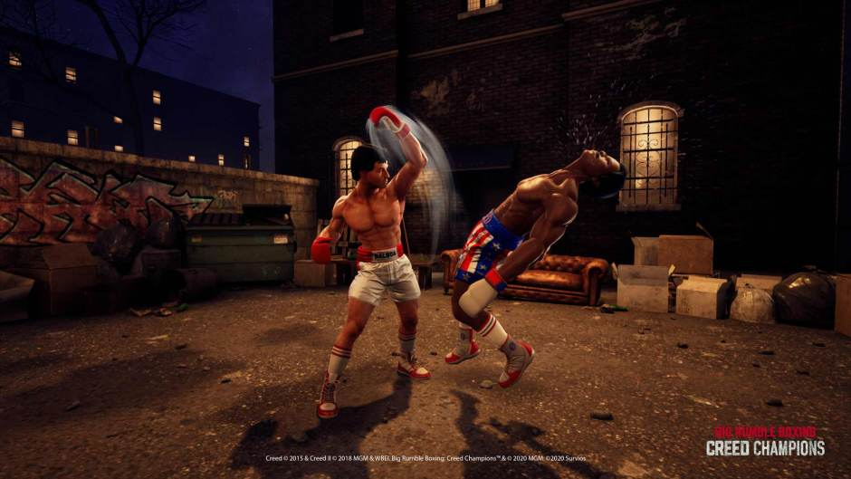 Big Rumble Boxing: Creed Champions Rocky screenshot