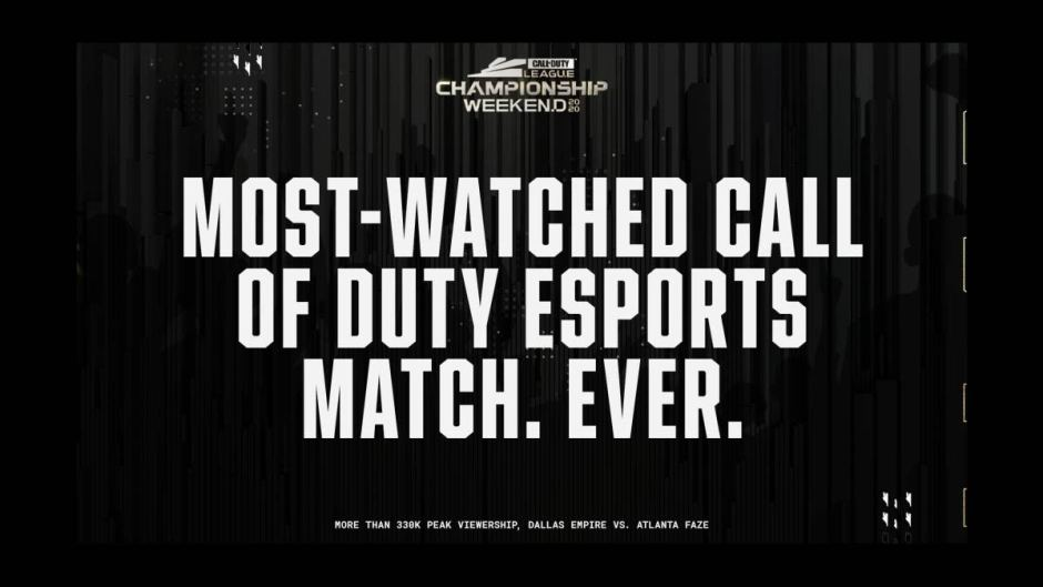 Dallas Empire Call of Duty League championship