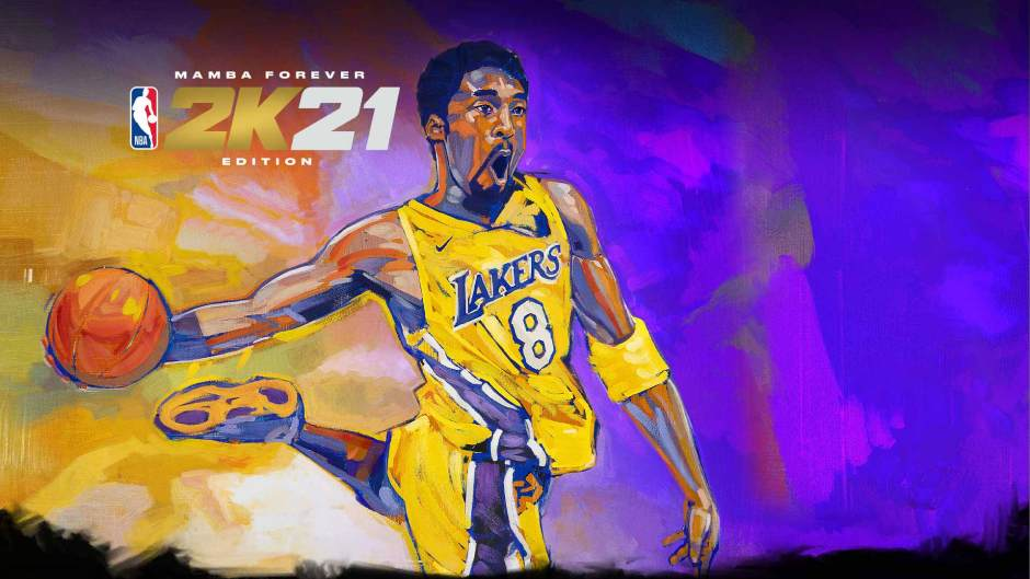 NBA 2K21 Mamba Forever Edition PS4 cover art