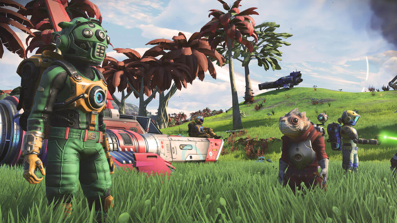 'No Man's Sky' update adds new planets, volcanoes and sandworms