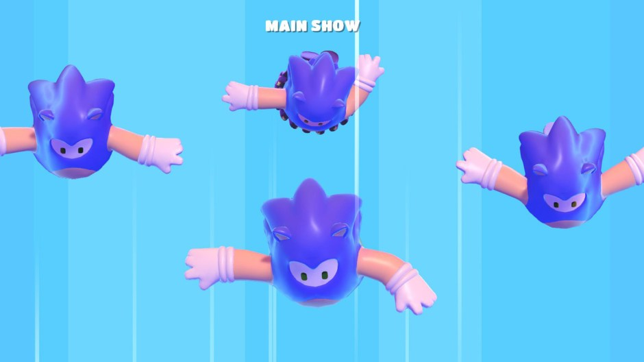 Sonic the Hedgehog Fall Guys: Ultimate Knockout screenshot