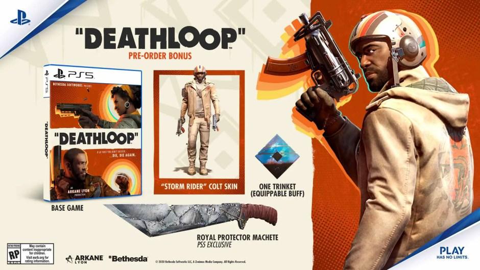 Deathloop PS5 pre-order bonus