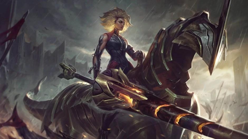 Rell League of Legends artwork