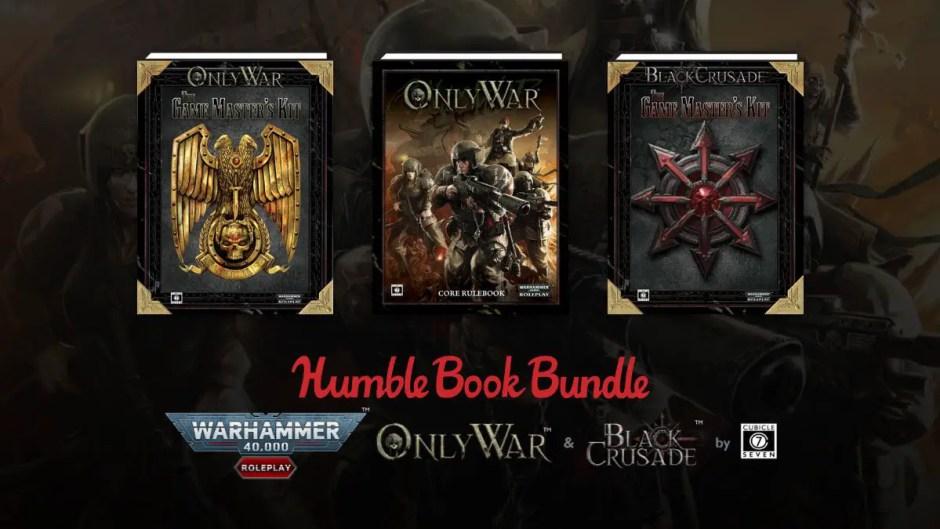Humble RPG Book Bundle: Warhammer 40K: Black Crusade & Only War
