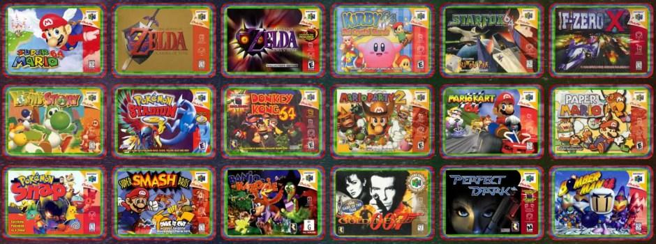 Nintendo 64 Classic Edition potential games lineup