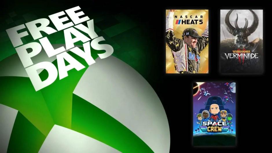Xbox Free Play Days: NASCAR Heat 5, Warhammer Vermintide 2, Space Crew