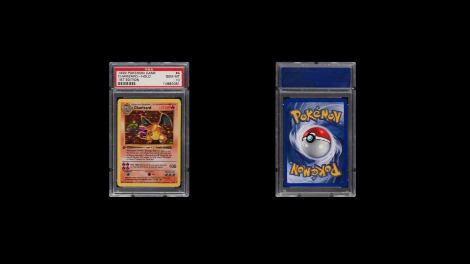 Charizard Gen 1 Pokémon Trading Card Game card