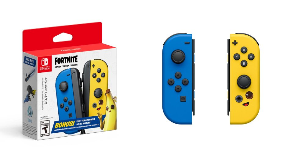 Joy-Con Fortnite Fleet Force Bundle