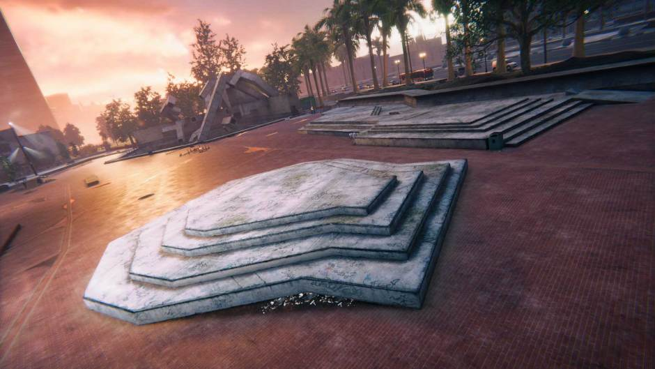 Embarcadero Plaza is the latest new Skater XL map