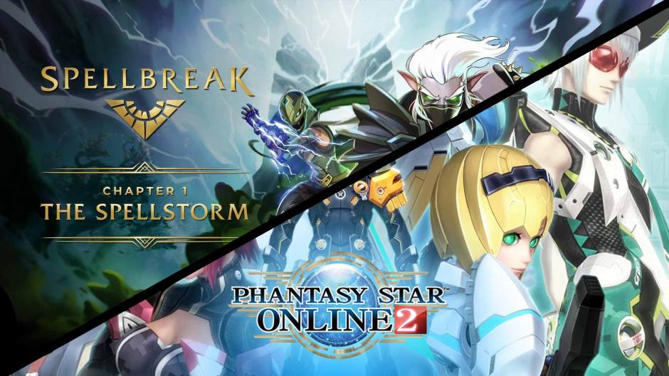 Spellbreak Chapter 1 Pass and Phantasy Star Online 2 Member Pack