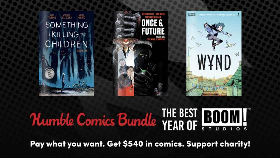The Humble Comic Bundle: The Best Year of Boom Studios