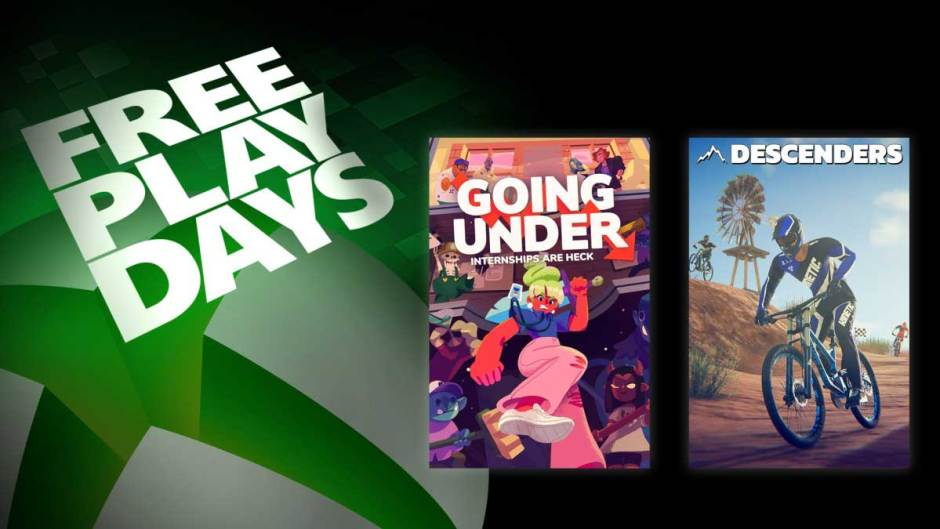 Xbox Free Play Days: Going Under and Descenders