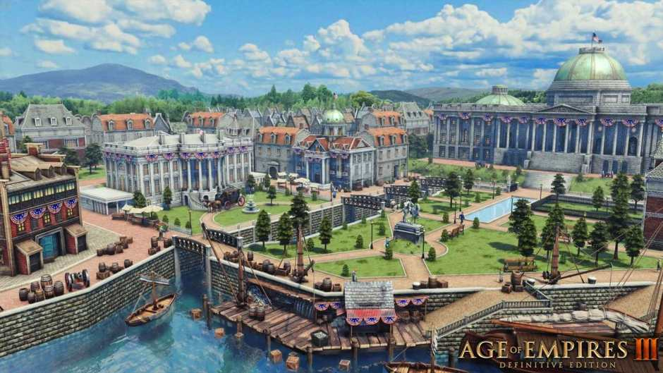 Age of Empires III adds the United States as a civilization