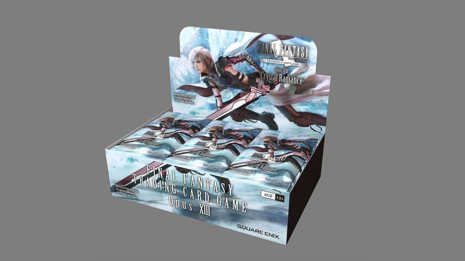 Final Fantasy TCG Opus XIII: Crystal Radiance booster pack