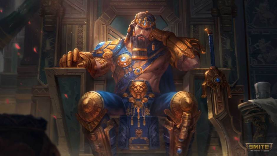 Gilgamesh joins Smite as King of Uruk Update goes live