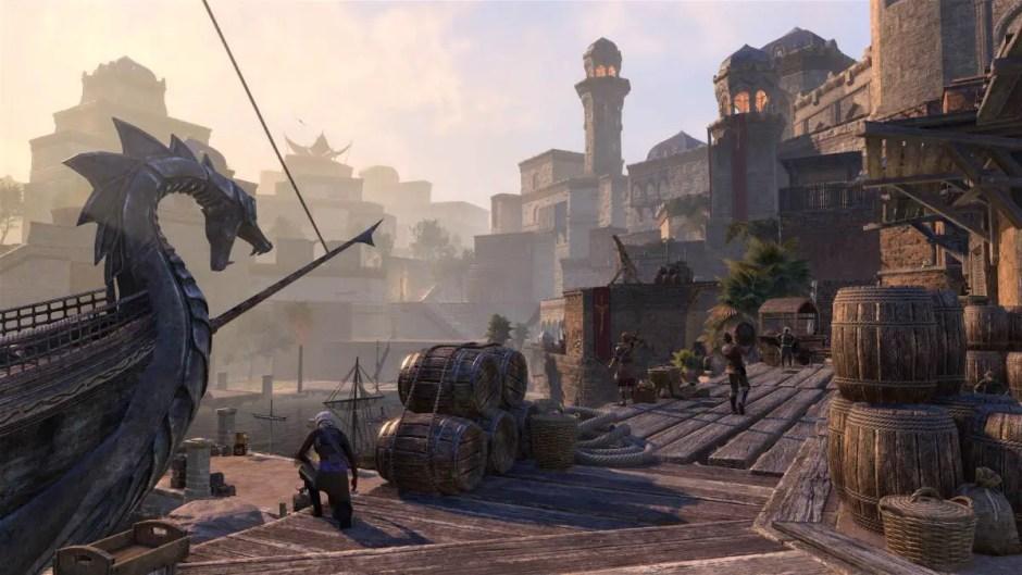 The Elder Scrolls Online Xbox Series X optimized