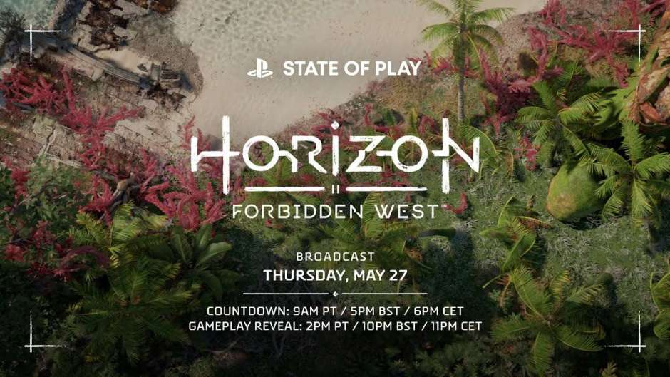 Horizon Forbidden West State of Play confirmed for May 27