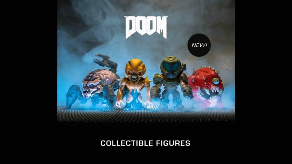 Just Geek Doom collectible figures